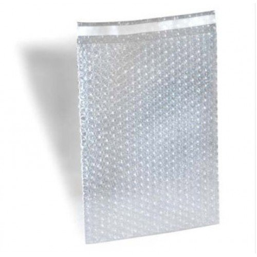 500 4 x 7.5 Clear Bubble Out Bags Protective Wrap Pouches 4x7.5 Self Seal By ValueMailers