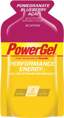 Power Bar Energy Gel - Blueberry Acai - 1.44 oz - 24 ct