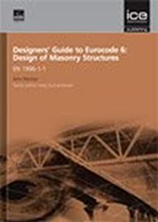 Manual for the Design of Plain Masonry in Building Structures