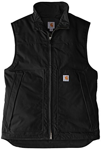 - Carhartt Men's Big & Tall Quick Duck Jefferson Vest,Black,3X-Large