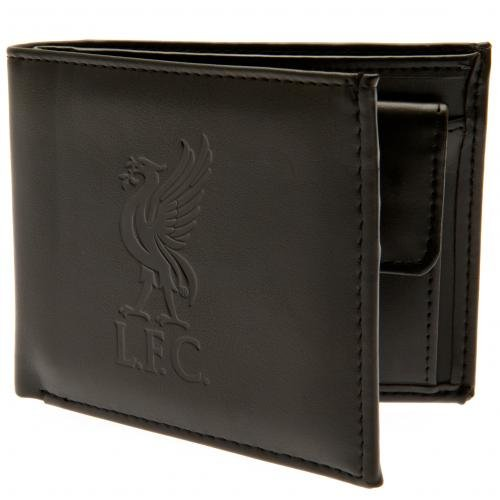 Liverpool FC - Authentic EPL Debossed Crest Leather Wallet in Gift Box