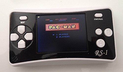 "WOLSEN 2.5"" Color Portable Handheld Game Console w/152 Games & speaker (BLACK)"