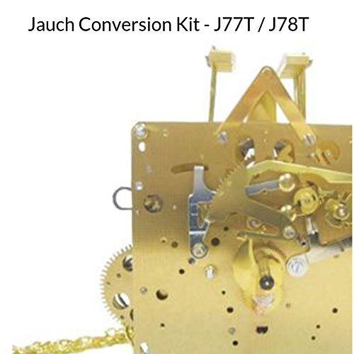 Qwirly Store: J-77T Jauch Conversion Movement Mechanism Kit for Jauch Grandfather - Unit Conversion to Hermle 1151-050.94cm Triple Chime by QWIRLY (Image #2)