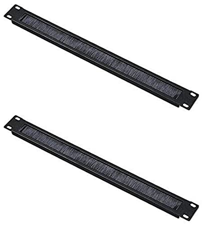 Rising 2 Pack 4U Vents Rack Mount Panel Server Network Racks Enclosures Spacer 19 inch (4U 7'')