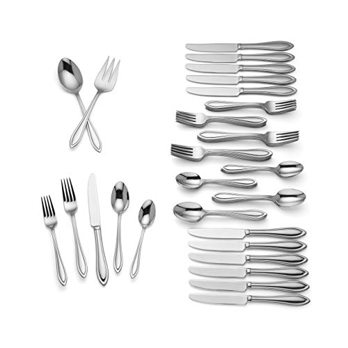 Lenox Medford 62-piece Flatware Set (Service for 12) from Lenox