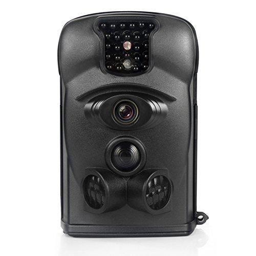 2019春の新作 Bestok Hunting Trail [並行輸入品] Camera 120° 12MP HD Night Camera Infrared Night Vision 65ft 2.4'' LCD Trail Camera and IP54 Waterproof Deer Camera (black) [並行輸入品] B07F3M4QVH, オウムチョウ:73972fe3 --- martinemoeykens-com.access.secure-ssl-servers.info