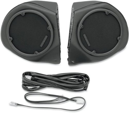 Hogtunes Rear Speaker Pod Shells only for 1996-2013 Harley-Davidson Electra Glide, Road Glide Tour Packs - RR-SPKR-POD