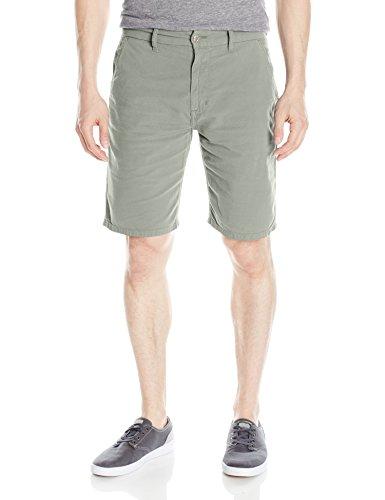 Joe's Jeans Men's Brixton Straight + Narrow Short Canvas Colors, Matte Grey, 32 by Joe's Jeans