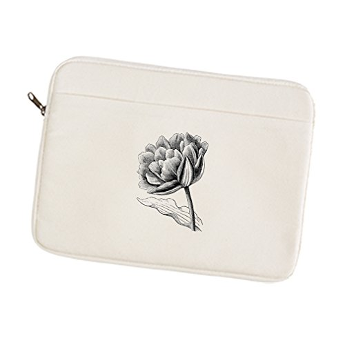 One Tulip Canvas (Canvas Laptop/Tablet Sleeve Case 15