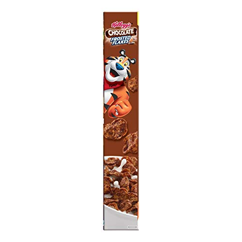 Kellogg's Breakfast Cereal, Chocolate Frosted Flakes, Low Fat, 10.2 oz Box(Pack of 14) by Kellogg's (Image #9)