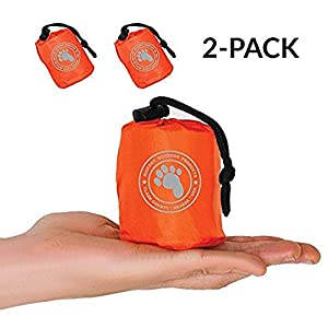 Bigfoot Blizzard Micro Emergency Survival Bivvy for Go-Bag (2-Pack)