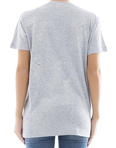 T shirt Gris S72gd0026s22146857m Algodon Dsquared2 Mujer ICwFqAZ