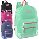 Wholesale High Trails 18 Inch Double Zip Backpack (Girls 4 Color Assorted)