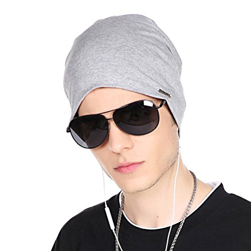 675c750d894 Jual CACUSS Baggy Skull Cap Thin Cotton Stretch Beanie Summer Sprort ...