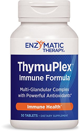 Enzymatic Therapy ThymuPlexTM 50 Tablets ( 12-Pack) by Enzymatic Therapy