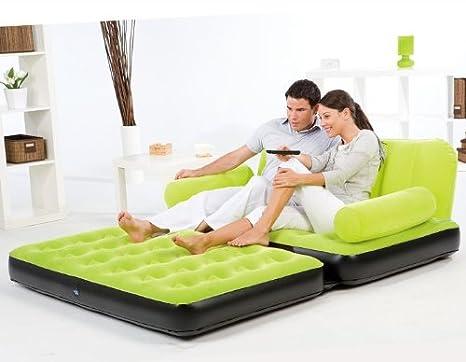 DeDonato Multi-Max - Sofá-cama hinchable de matrimonio: Amazon.es ...