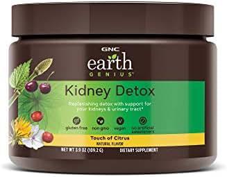 GNC Earth Genius Kidney Detox, Touch of Citrus, 14 Servings