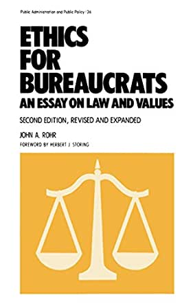 Essay Science And Religion Ethics For Bureaucrats An Essay On Law And Values Second Edition Public  Administration And Public Policy Book  Nd Edition Kindle Edition Examples Of Essay Proposals also Sample Proposal Essay Ethics For Bureaucrats An Essay On Law And Values Second Edition  Fifth Business Essay