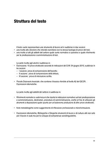 Amazon.it: Il nuovo test d\'italiano A2. Suggerimenti ed esercizi per ...