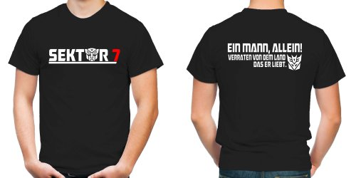 Sektor 7 T-Shirt | Transformers | Kult