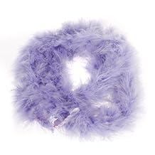 Light Purple Feather Boa Fluffy Craft Decoration 6.6 Feet Long