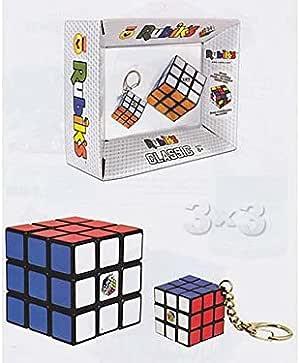 Rubiks - Rubick´s Classic 397233043. Pack Cubo Rubick y Llavero ...