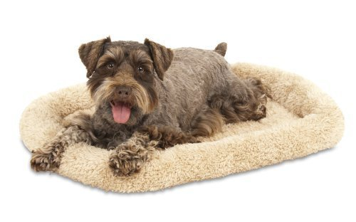 Aspen Pet Bolster Style Kennel Mat, 23-1 2 by 16-1 2-Inch by Petmate