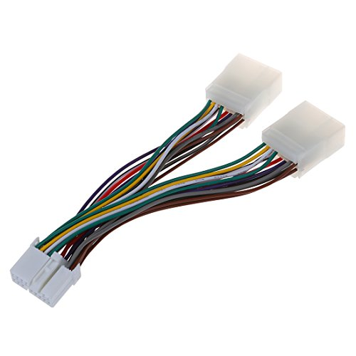 Aux Changer - SODIAL(R) Honda Y Cable Splitter for Aux CD Changer / Navigation / XM / Ipod Adapter