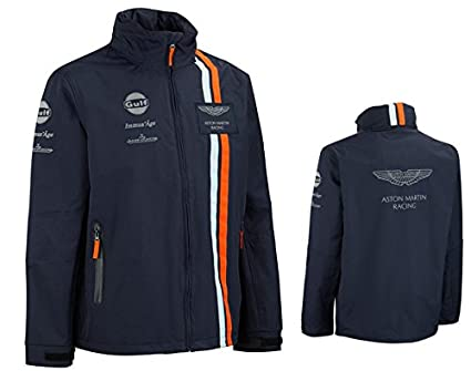 Amazoncom Aston Martin Gulf Team Jacket SML Sports Outdoors - Aston martin clothing