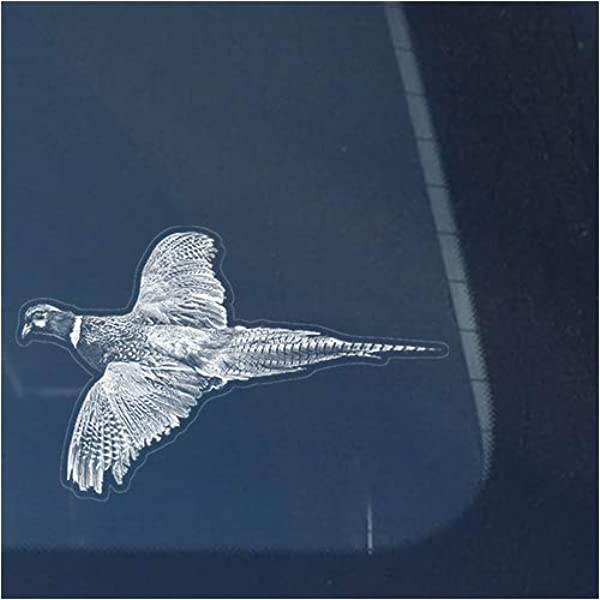 Size #518 Pheasant Slayer Hunting Decal Sticker Choose Color