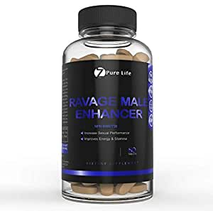 Ravage - New Male Energy Booster Supplement for Men – Male Stamina Endurance Enhancer Pills - Natural Herbal Vitamins Aid in Physical Wellness - Improves Endurance & Enhances Physical Wellbeing