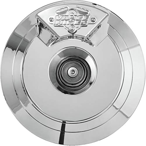 Vance & Hines Naked VO2 Skullcap Air Cleaner Insert (CHROME) ()
