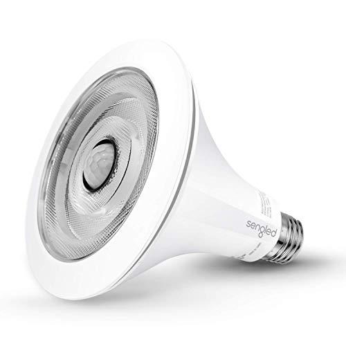 Sengled Smartsense Motion Sensor Light Sensor Bulb Outdoor Waterproof LED Flood Light Bulb Dusk to Dawn Warm White 3000K 3rd Gen PAR38 E26 Lamp, 1 Pack