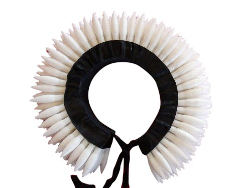 [Black and White Round Plastic Flower for Indian Classical Dance Hair Makeup] (Bharatanatyam Dance Costume Traditional)