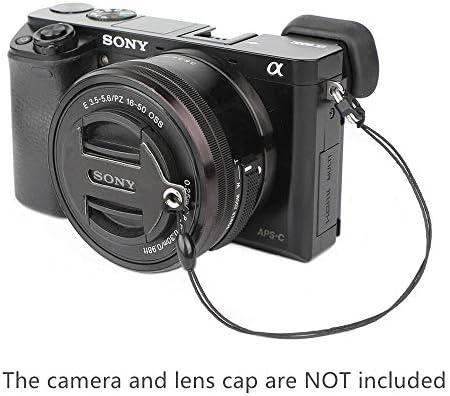 + Lens Cap Holder 67mm Nwv Direct Microfiber Cleaning Cloth For Sony Alpha Alpha NEX-5N Lens Cap Side Pinch