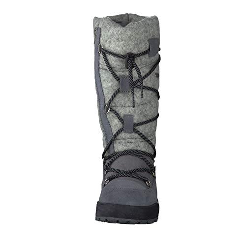 Vista Gris Bateau Chaussures Pour Femme SFBpXOF