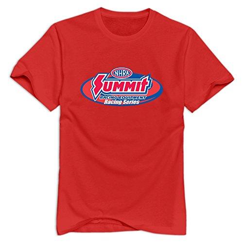 - Tavil NHRA Drag Racing O-Neck T Shirt For Boyfriend Red Size S