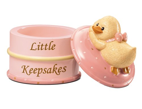Russ Berrie Keepsake Box, Pink (Discontinued by (Russ Berrie Girl)