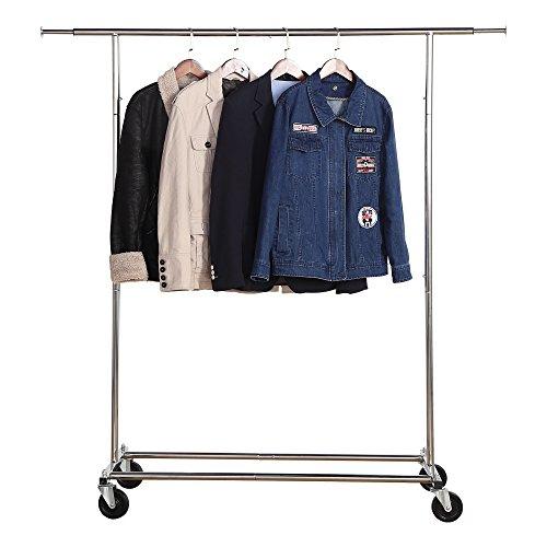 Housen Solutions Adjustable Garment Rack Commercial Grade Cl