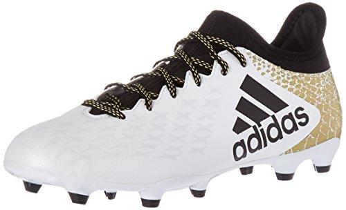 adidas para hombre X 16,3FG Fútbol cornamusa White/Black/Metallic Gold