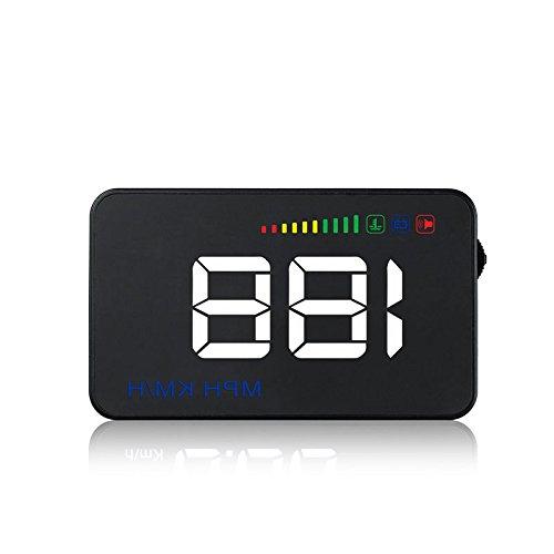 Meiyiu HUD Head Up Display Car Overspeed Alarm Speed Digital Reflective Projector