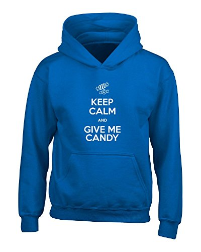 Pop Rocks Candy Costume (Halloween Keep Calm And Give Me Candy Fun Cute Easy Costume - Adult Hoodie)