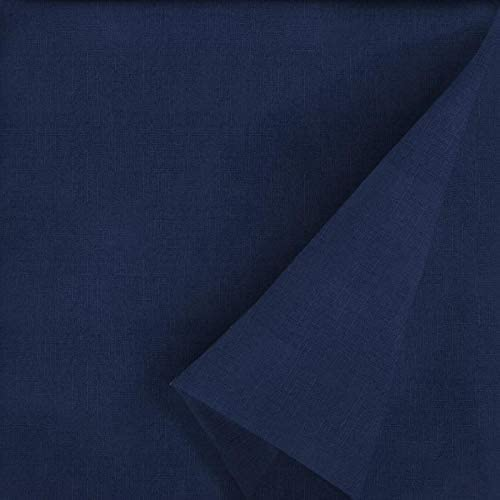 allen roth 1 Piece Madera Linen Navy Patio Chaise Lounge Chair Cushion