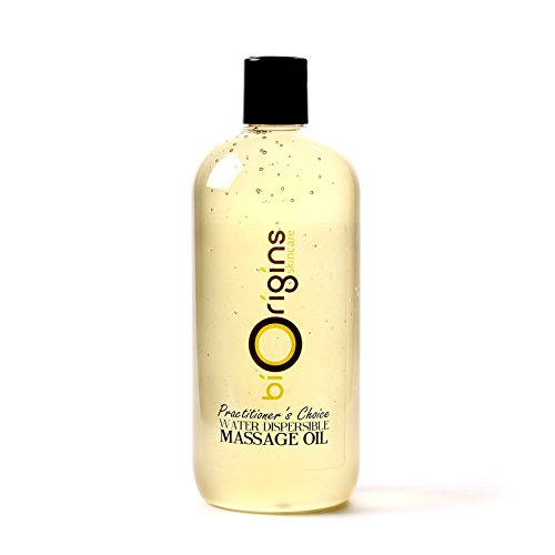 - Practitioners Choice Water Dispersible Massage Oil - 100% Pure - 500ml