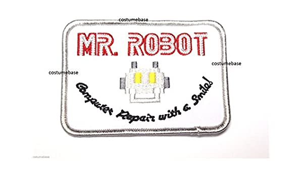 embroidered MR ROBOT FSOCIETY HIGH QUALITY PATCH IRON//SEW ON ~FREE SHIP