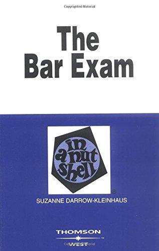 The Bar Exam in a Nutshell (Nutshell Series)