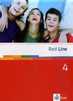 Red Line 4: Schülerbuch (fester Einband) Klasse 8 (Red Line. Ausgabe ab 2006)