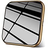 AmyZone Fast Wireless Charger Wireless Charging Pad Qi Certified Case-Friendly Slim Aluminum Charger Compatible iPhone 8/X/XS Max Samsung Galaxy S10/S9/S8 Google Pixel Moto LG Qi-Enabled Series(Gold)