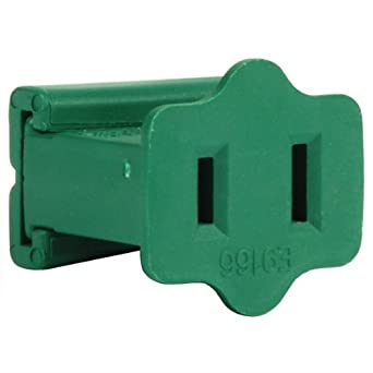 Green - Female Gilbert Replacement Plug for Commercial Christmas ...