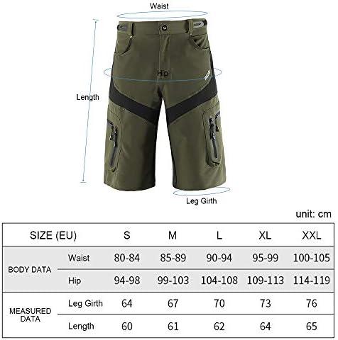 Lixada Baggy Shorts Cycling Biking Pants Breathable Sports Loose Fit Shorts